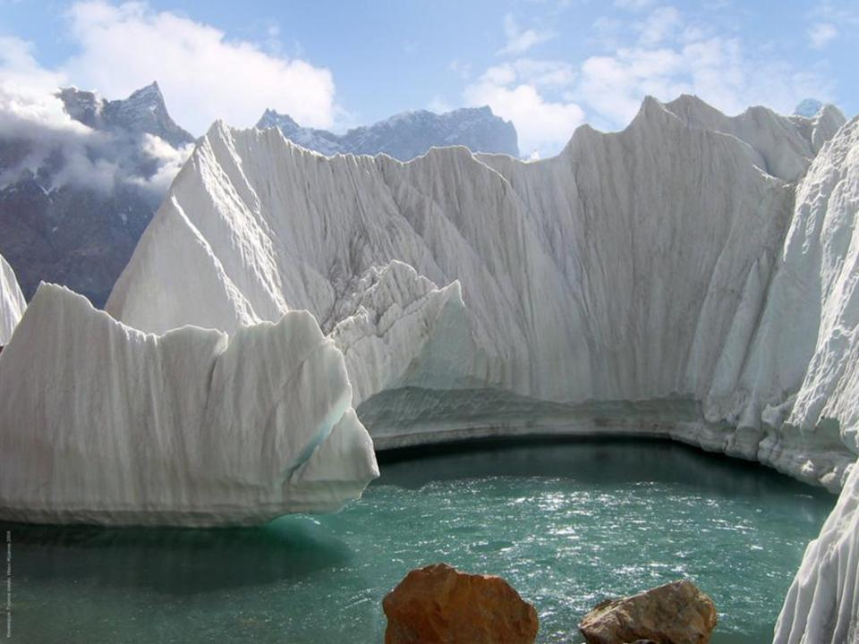 Glaciar espectacular