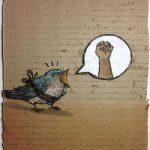 Pájaro atado