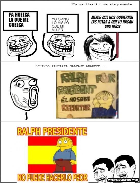 Ralph for President - No puede hacerlo peor
