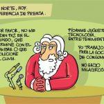 Declaraciones de Papá Noel para estas Navidades