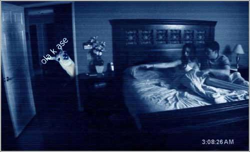 paranormal activity - llama ola k ase