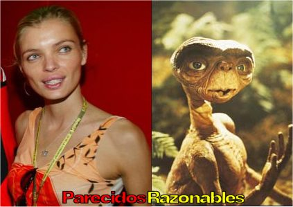 Parecidos razonables - Esther Cañadas y ET