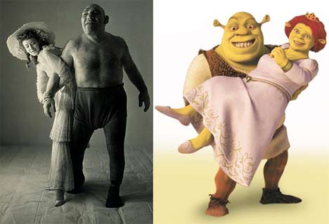 Parecidos razonables - Shrek