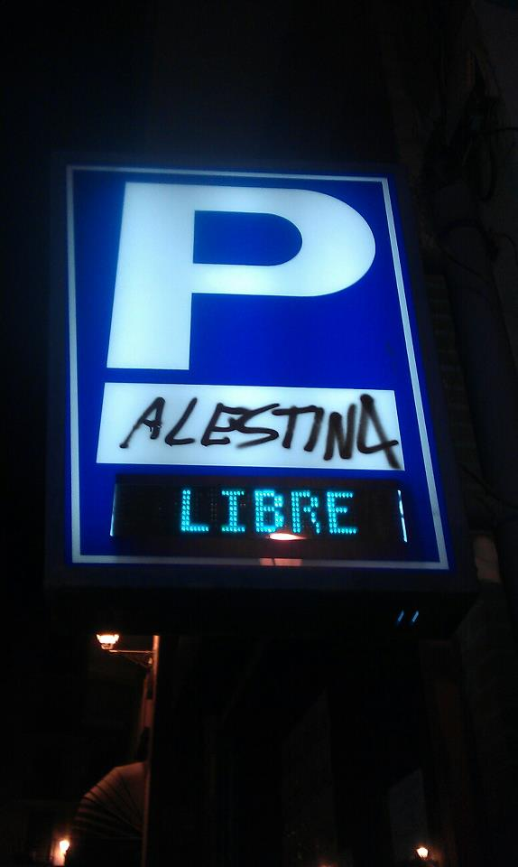 Palestina Libre (parking)