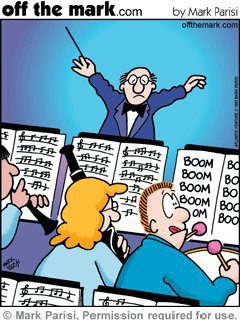 Partitura del percusionista