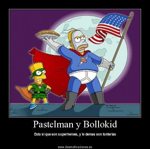 Pastelman y Bollokid - Esto sí que son superheroes y lo demás son tonterías
