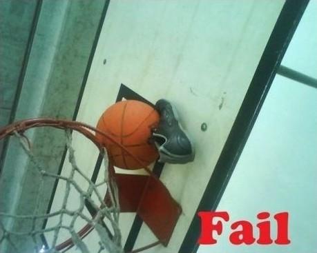 Desenganchando pelota fail
