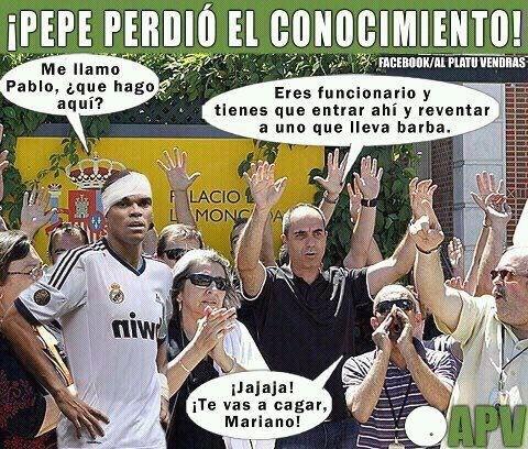 Pepe vs Mariano Rajoy