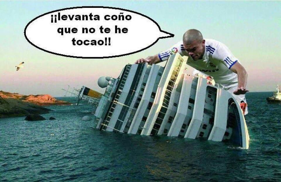 Pepe y el Costa Concordia