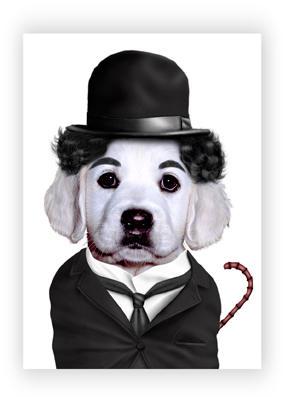 Perro - Charles Chaplin
