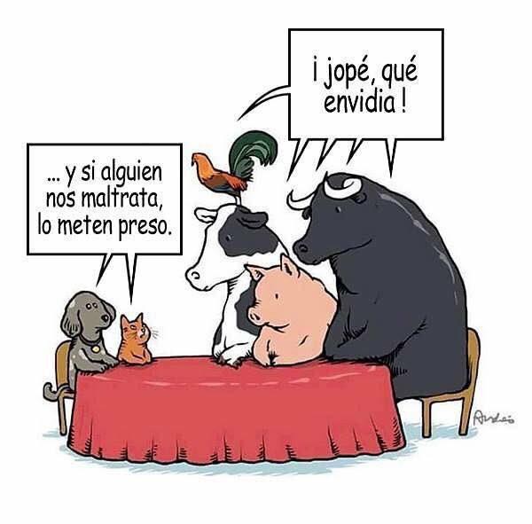 Conversaciones sobre animalismo entre animales