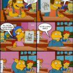 Los Simpson – Dibujando personajes de dibujos animados