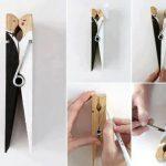 Cómo convertir una pinza en una bonita figura de novios en una boda