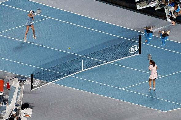 Pista de tenis imposible