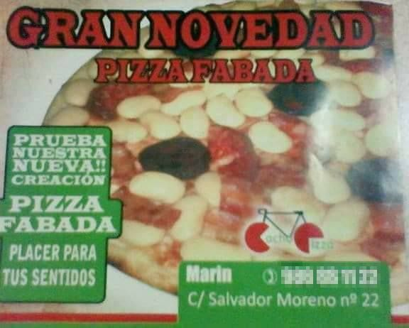 Pizza fabada