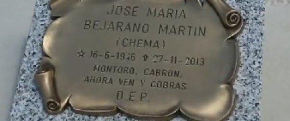 La última dedicatoria a Cristóbal Montoro