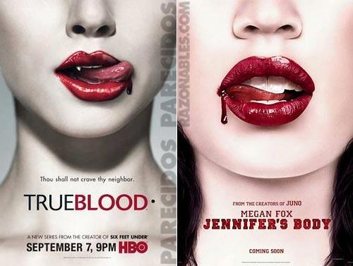 Carátulas Trueblood & Jennifer's body