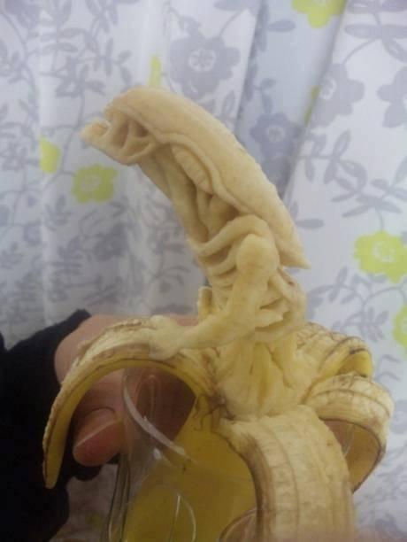 Plátano alien