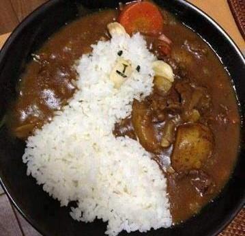 plato arroz oveja guiso