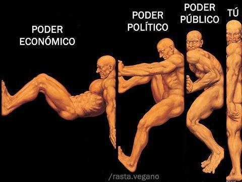 Poder económico, poder político, poder público y tú