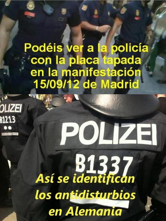 Polis alemanes vs polis españoles