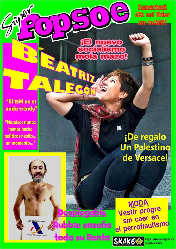 El nuevo socialismo de Beatriz Talegón mola mazo