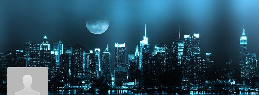 Portada Facebook - Nueva York de noche