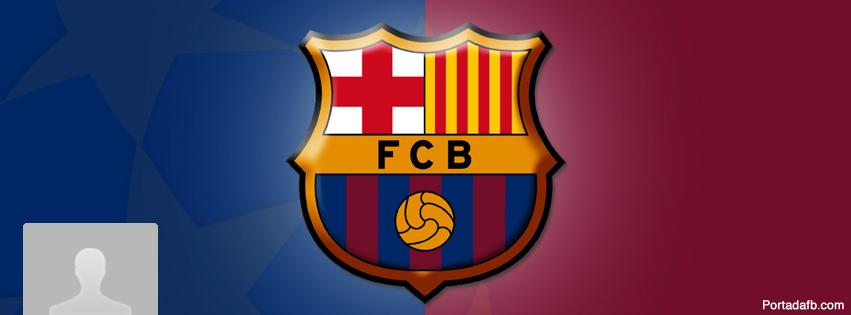 Portada Facebook - Escudo F.C. Barcelona
