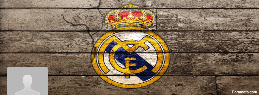 Portada Facebook Escudo Real Madrid