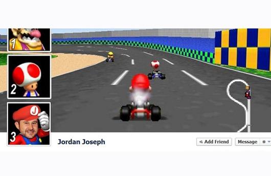 Portada Facebook - Mario Kart