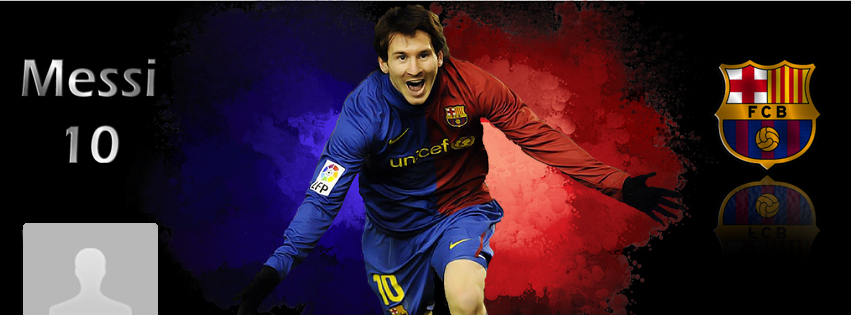 Portada Facebook - Messi