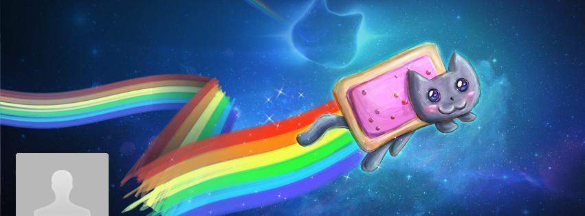 Portada Facebook - Nyan-cat