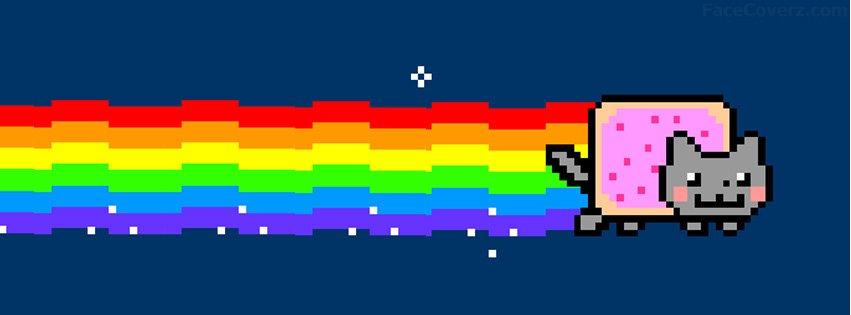 Portada Facebook - Nyan cat