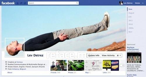 Portada Facebook - Tumbado en el aire