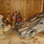 El DeLorean viaja a la fecha del nacimiento de Jesús