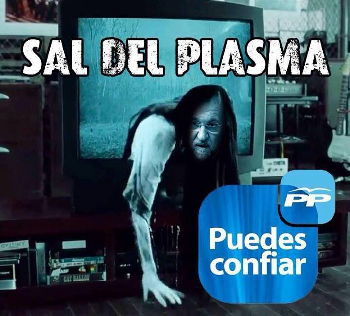 Rajoy, sal del plasma