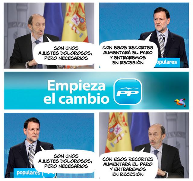 PP y PSOE - ¿Empieza el cambio?
