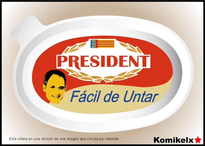 President - Fácil de untar