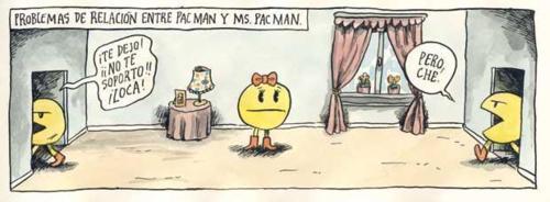 Pacman - Problemas de pareja