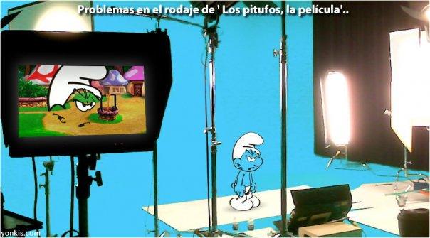 """Problemas en el rodaje de """"Los pitufos, la película"""""""