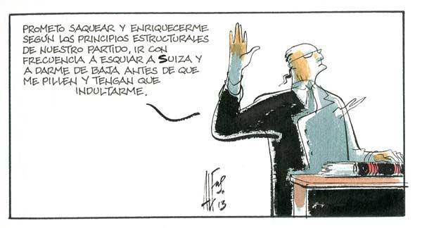Nuevo juramento en la investidura de un político en España