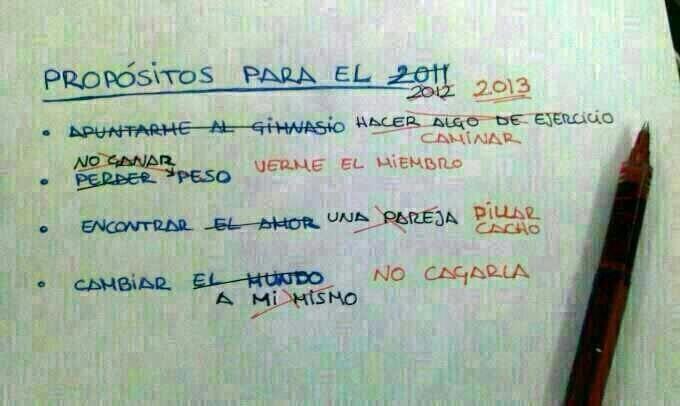 Propósitos para el 2013