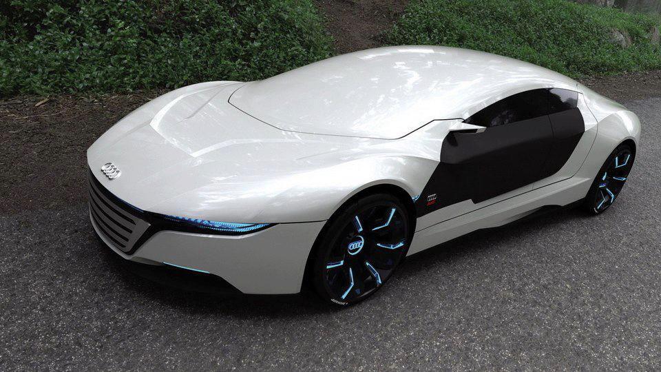 Prototipo Audi futurista