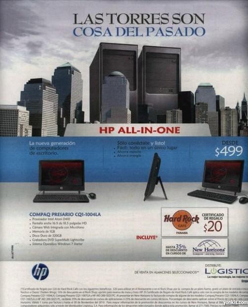 Publicidad HP - Las torres son cosas del pasado
