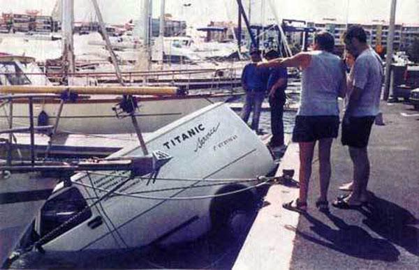 puerto furgoneta hundida titanic