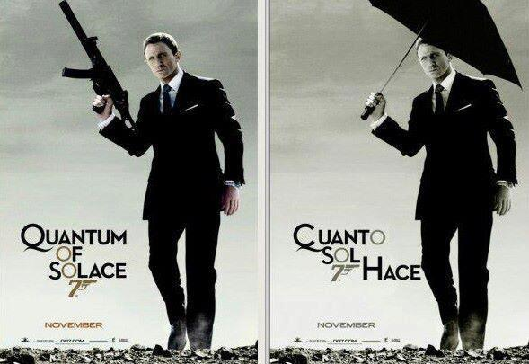 Quantum of Solace - Cuánto sol hace