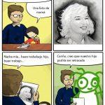 El dibujo de mamá