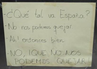 ¿Qué tal va España?