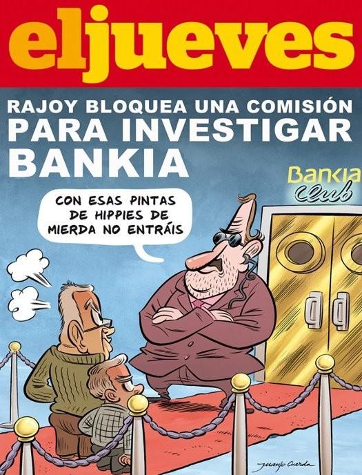 Rajoy bloquea una comisión para investigar Bankia
