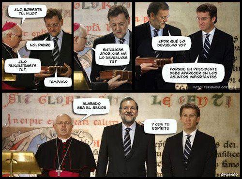 Rajoy devuelve a la Catedral el Códice Calixtino